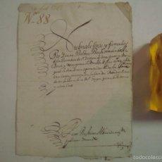 Arte: MANUSCRITO SOBRE LA PARROQUIA DE ST. GREGORIO. GIRONA. 1702. 5 PÁGINAS.FOLIO MENOR. Lote 57049347