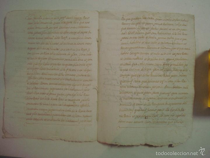 Arte: MANUSCRITO SOBRE LA PARROQUIA DE ST. GREGORIO. GIRONA. 1702. 5 PÁGINAS.FOLIO MENOR - Foto 3 - 57049347