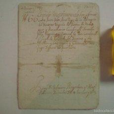 Arte: MANUSCRITO DE 1679.DE CAPITOLS MATRIMONIALS. GERONA..TEXTO CATALÁN.16 PÁGINAS. Lote 57049444