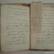 Arte: EXCEPCIONAL MANUSCRITO INÉDITO DEL SIGLO XV Y XVI.178 +136 PÁG. FOLIO MENOR.GIRONA. Lote 57989695
