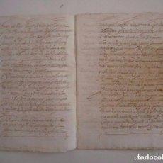 Arte: MANUSCRITO DE 1671 CAPITOLS MATRIMONIALS. GIRONA. CASTELL DE BRUNYOLA. 24 PÁGINAS. Lote 66794046