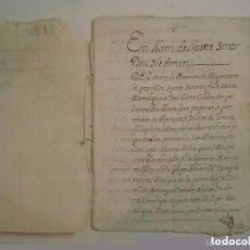 Arte: MANUSCRITO DE 1704 EN GIRONA. BRUYOLA. CAPITOLS MATRIMONIALS. 18 PÁGINAS.. Lote 66794122