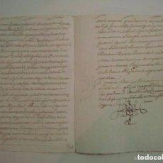 Arte: MANUSCRITO DE 1661.VICARIA GERUNDA.TEXTO CATALÁN. 12 PÁGINAS. FOLIO MENOR. Lote 66794250