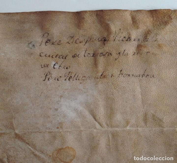 Arte: Circa 1459 Tortosa Pergamino CARTAS DE PRIVILEGIOS Y FRANQUEZAS nombre diferentes reyes desde S XII - Foto 10 - 83918736