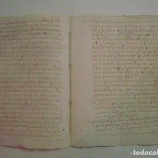 Arte: MANUSCRITO DE 1682.PLAZA DE ST. GREGORI. GIRONA.TEXTO LATÍN.7 PÁGINAS.FOLIO MENOR. Lote 84460620