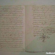 Arte: MANUSCRITO DE 1661.VICARIA GERUNDA.TEXTO CATALÁN. 12 PÁGINAS. FOLIO MENOR. Lote 84461144