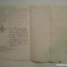 Arte: MANUSCRITO SOBRE LA PARROQUIA DE ST. GREGORIO. GIRONA. 1702. 5 PÁGINAS.FOLIO MENOR. Lote 84462032