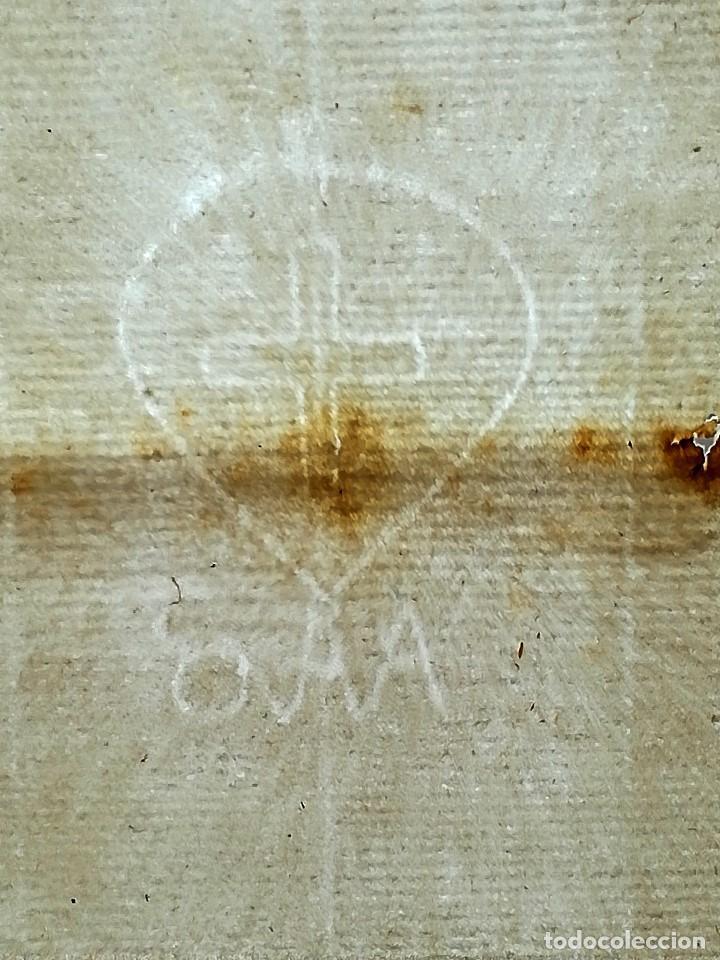 20 HOJAS PAPEL MEDIEVAL AÑO 1592 EN BLANCO,CON MARCA DE AGUA,SANTA INQUISICION ?,REGALO MANUSCRITO (Arte - Manuscritos Antiguos)