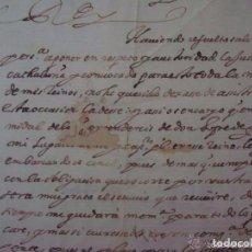 Arte: MANUSCRITO HISTORICO DE LA SUBLEVACIÓN DE LOS CATALANES EN 1640.FIRMADO FELIPE IV. Lote 97588983