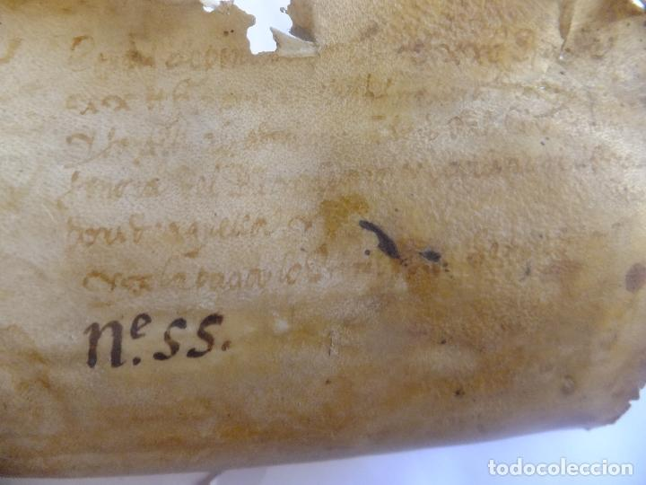 Arte: Manuscrito en pergamino Cataluña Girona L Fororellas de Tayala 1590 - Foto 10 - 109648887