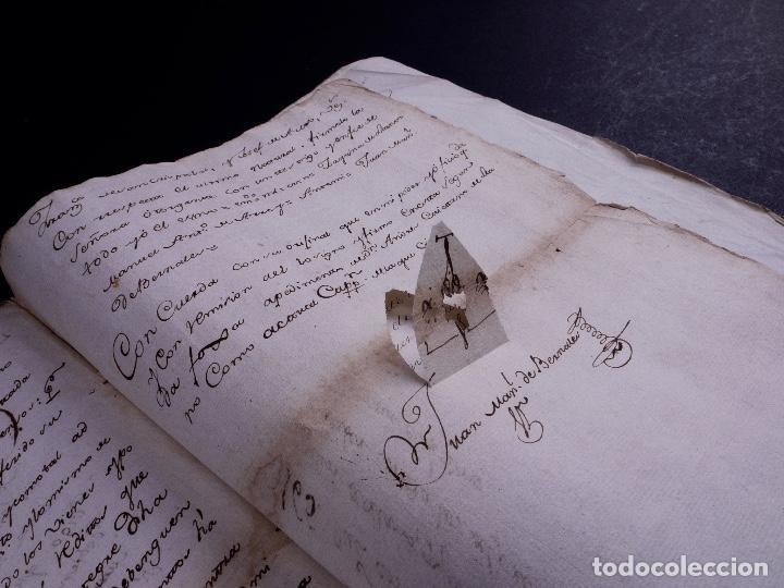 DEMOLICION DE LA IGLESIA DE SAN MARTIN DE SOPUERTA, BIZKAIA 1770 (Arte - Manuscritos Antiguos)