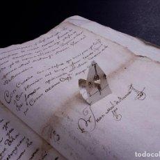Arte: DEMOLICION DE LA IGLESIA DE SAN MARTIN DE SOPUERTA, BIZKAIA 1770. Lote 119474463