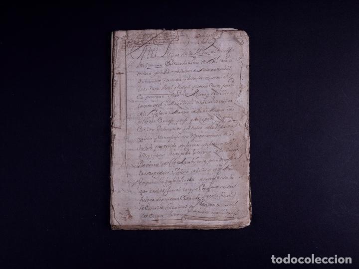 Arte: DEMOLICION DE LA IGLESIA DE SAN MARTIN DE SOPUERTA, BIZKAIA 1770 - Foto 2 - 119474463