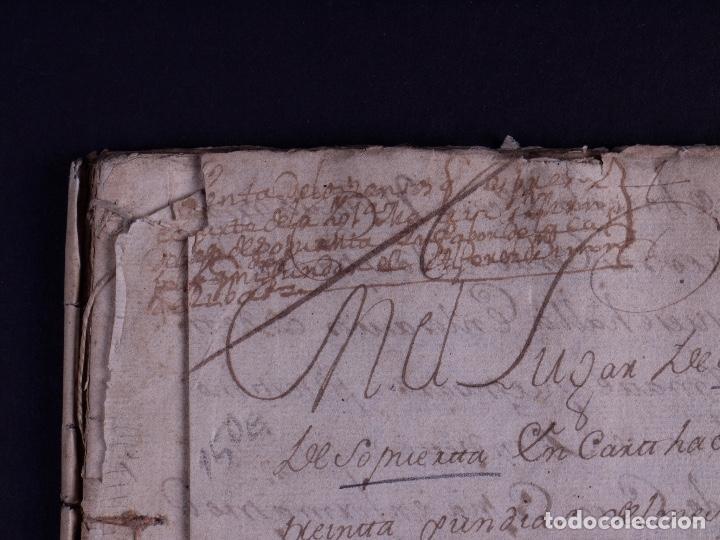 Arte: DEMOLICION DE LA IGLESIA DE SAN MARTIN DE SOPUERTA, BIZKAIA 1770 - Foto 3 - 119474463