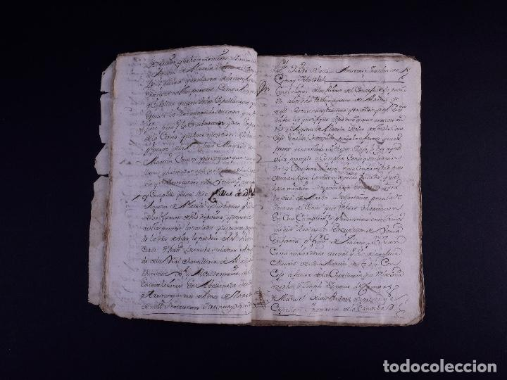Arte: DEMOLICION DE LA IGLESIA DE SAN MARTIN DE SOPUERTA, BIZKAIA 1770 - Foto 4 - 119474463