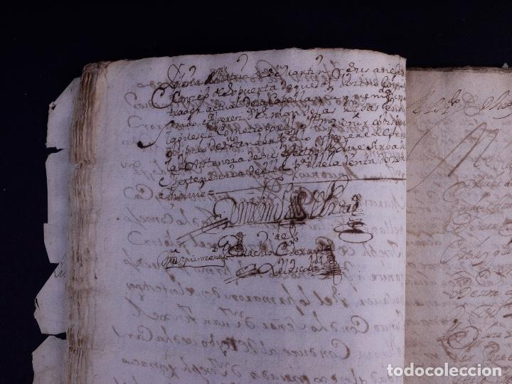 Arte: DEMOLICION DE LA IGLESIA DE SAN MARTIN DE SOPUERTA, BIZKAIA 1770 - Foto 5 - 119474463