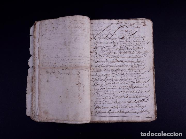 Arte: DEMOLICION DE LA IGLESIA DE SAN MARTIN DE SOPUERTA, BIZKAIA 1770 - Foto 6 - 119474463