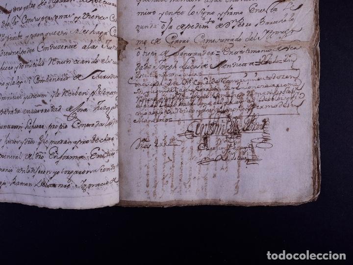 Arte: DEMOLICION DE LA IGLESIA DE SAN MARTIN DE SOPUERTA, BIZKAIA 1770 - Foto 7 - 119474463