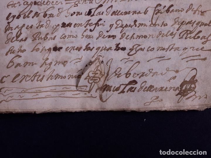 Arte: DEMOLICION DE LA IGLESIA DE SAN MARTIN DE SOPUERTA, BIZKAIA 1770 - Foto 9 - 119474463