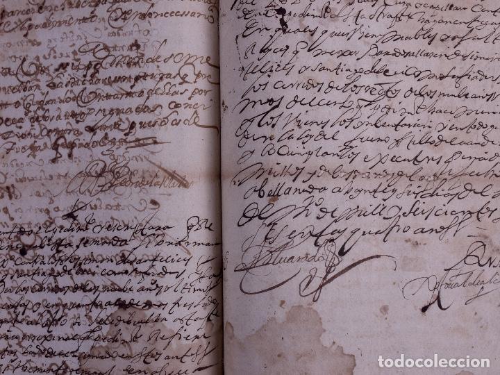 Arte: DEMOLICION DE LA IGLESIA DE SAN MARTIN DE SOPUERTA, BIZKAIA 1770 - Foto 11 - 119474463