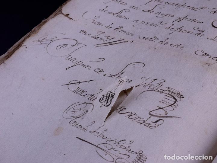 Arte: DEMOLICION DE LA IGLESIA DE SAN MARTIN DE SOPUERTA, BIZKAIA 1770 - Foto 12 - 119474463