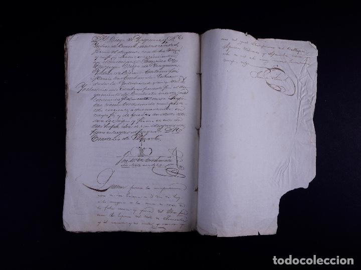Arte: DEMOLICION DE LA IGLESIA DE SAN MARTIN DE SOPUERTA, BIZKAIA 1770 - Foto 15 - 119474463
