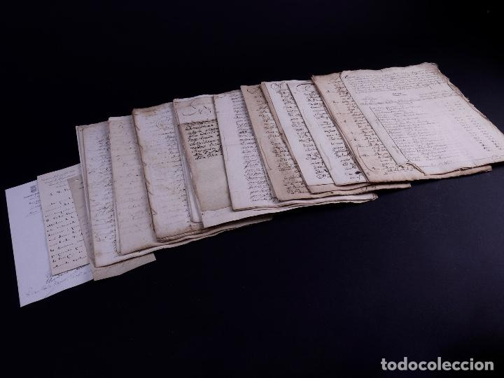 FAMILIA ELCANO, LOTE DE LEGAJOS, BIZKAIA 1790-1900 (Arte - Manuscritos Antiguos)