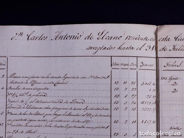 Arte: FAMILIA ELCANO, LOTE DE LEGAJOS, BIZKAIA 1790-1900 - Foto 4 - 119481831