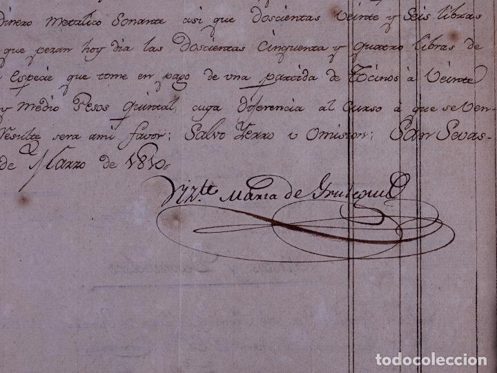 Arte: FAMILIA ELCANO, LOTE DE LEGAJOS, BIZKAIA 1790-1900 - Foto 8 - 119481831