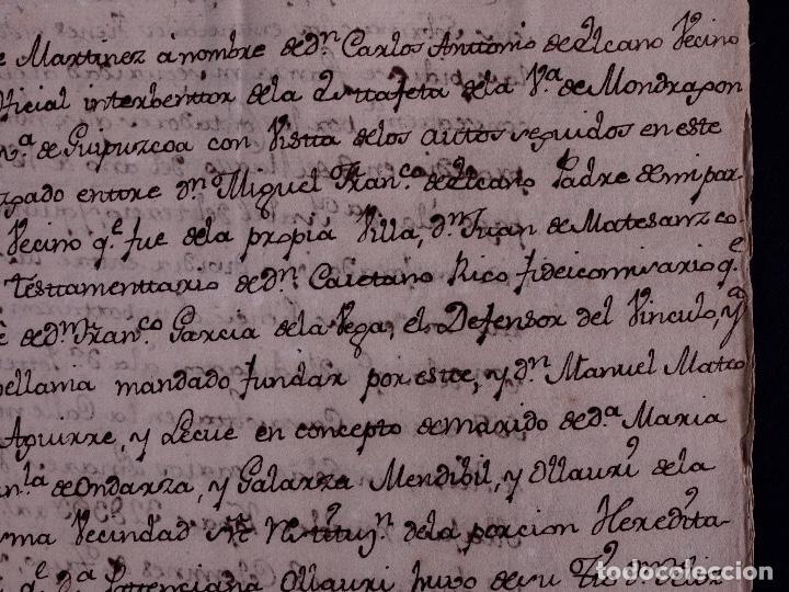 Arte: FAMILIA ELCANO, LOTE DE LEGAJOS, BIZKAIA 1790-1900 - Foto 16 - 119481831