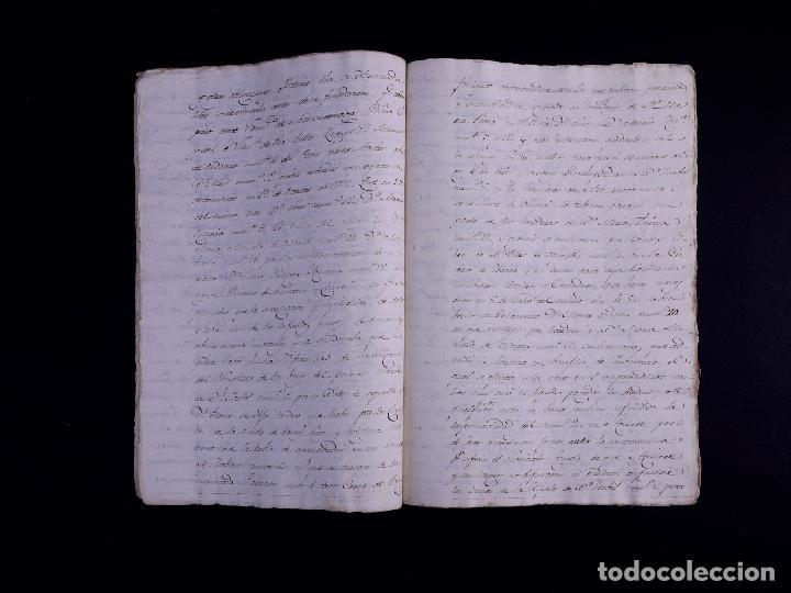 Arte: FAMILIA ELCANO, LOTE DE LEGAJOS, BIZKAIA 1790-1900 - Foto 19 - 119481831