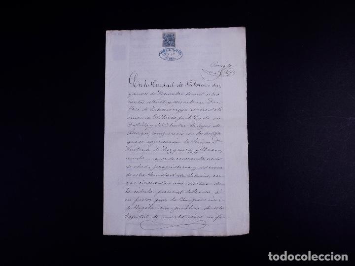 Arte: FAMILIA ELCANO, LOTE DE LEGAJOS, BIZKAIA 1790-1900 - Foto 23 - 119481831
