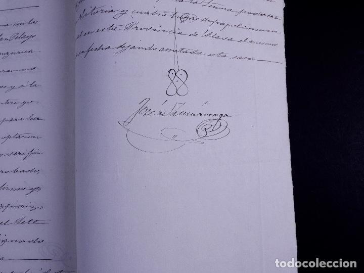 Arte: FAMILIA ELCANO, LOTE DE LEGAJOS, BIZKAIA 1790-1900 - Foto 24 - 119481831