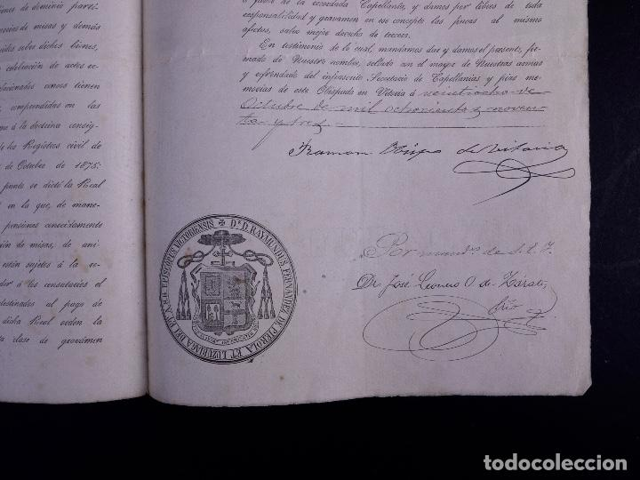 Arte: FAMILIA ELCANO, LOTE DE LEGAJOS, BIZKAIA 1790-1900 - Foto 25 - 119481831