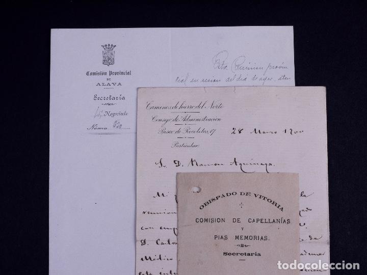 Arte: FAMILIA ELCANO, LOTE DE LEGAJOS, BIZKAIA 1790-1900 - Foto 26 - 119481831