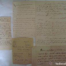 Arte: CONJUNTO DE RECETAS MANUSCRITAS DE APROXIMADAMENTE 1840 CONTRA ENFERMEDADES. Lote 119515235