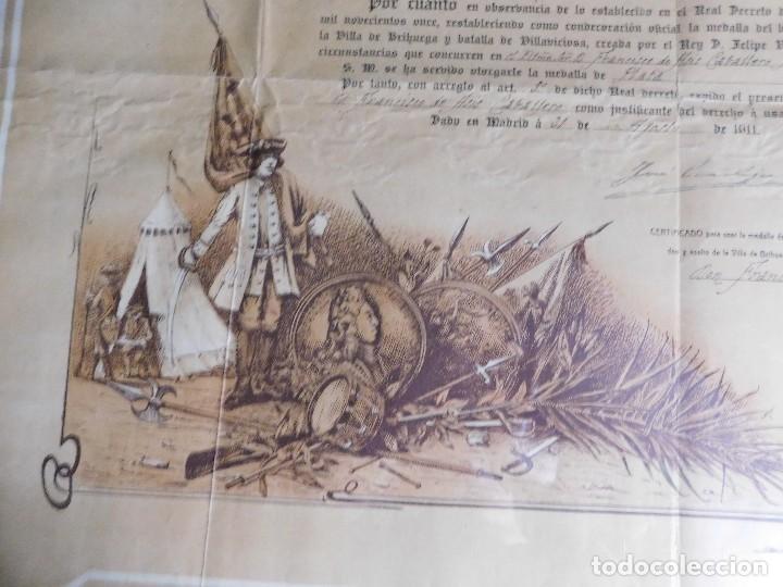 Arte: Presidente Consejo de Ministros Español, José Canalejas, 21 Agosto 1911. ¡Manuscrito sellado grande! - Foto 5 - 120004439