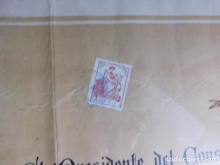 Arte: Presidente Consejo de Ministros Español, José Canalejas, 21 Agosto 1911. ¡Manuscrito sellado grande! - Foto 7 - 120004439