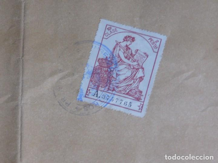 Arte: Presidente Consejo de Ministros Español, José Canalejas, 21 Agosto 1911. ¡Manuscrito sellado grande! - Foto 8 - 120004439