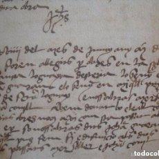 Arte: EXCEPCIONAL MANUSCRITO INÉDITO DEL SIGLO XV Y XVI.178 +136 PÁG. FOLIO MENOR.GIRONA. Lote 132204538