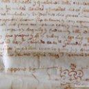 Arte: LIBRERIA GHOTICA. MANUSCRITO EN PERGAMINO DEL SIGLO XVII. 1612. 32 X 24 CM. GIRONA.-. Lote 155787614