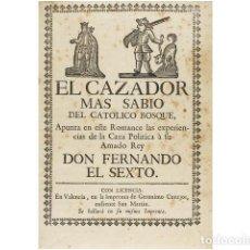 Arte: CONJUNTO FACTICIO POÉTICO-POLÍTICO-SATÍRICO, MADRID Y SU CORTE.. Lote 156046397