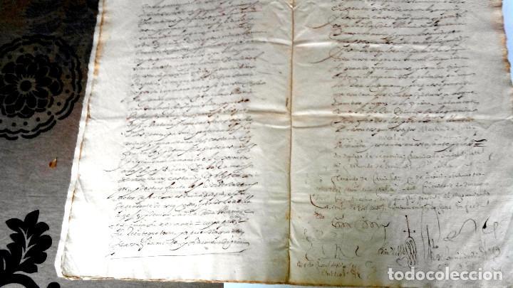 Arte: TRES ESCRITURAS DE ABADIANO CASA Y ARBOLES DE AGUIRRE GOJENCIA 1654-1657-1669. 28 pag manuscritas. - Foto 7 - 159615554