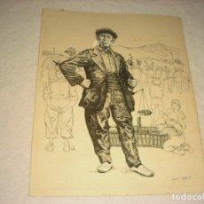 Arte: EL CONRADO . LAMINA DE XOTS CLAPERS . 32 X 26 CM.. Lote 165577742