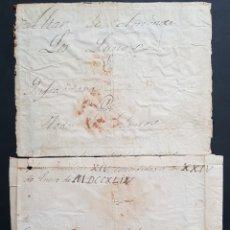 Arte: BULA PAPAL (XVIII) - SANTA CRUZADA,1744.BENEDICTO XIV.FILIGRANA CABALLERO CON LANZA A CABALLO.. Lote 167123102