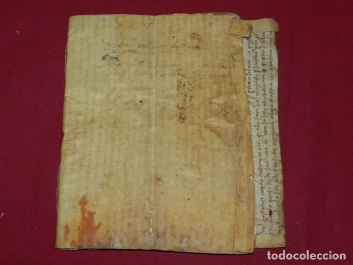 (M) LIBRO DOCUMENTO MANUSCRITO SANTA MARIA DE OSOR (GERONA) 1644, LIBRO DE VENTAS MAS FERRER (Arte - Manuscritos Antiguos)