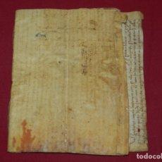 Arte: (M) LIBRO DOCUMENTO MANUSCRITO SANTA MARIA DE OSOR (GERONA) 1644, LIBRO DE VENTAS MAS FERRER. Lote 172820518