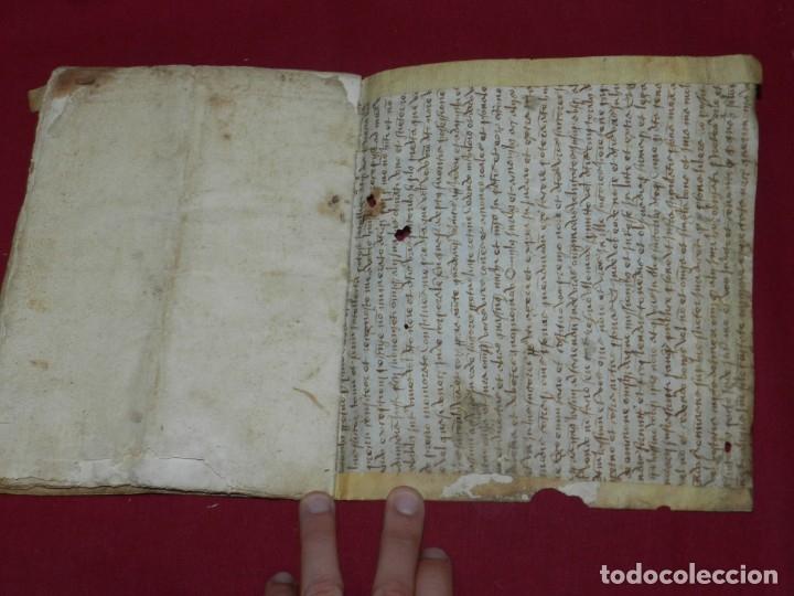 Arte: (M) Libro Documento Manuscrito Santa Maria de Osor (Gerona) 1644, Libro de Ventas Mas Ferrer - Foto 6 - 172820518
