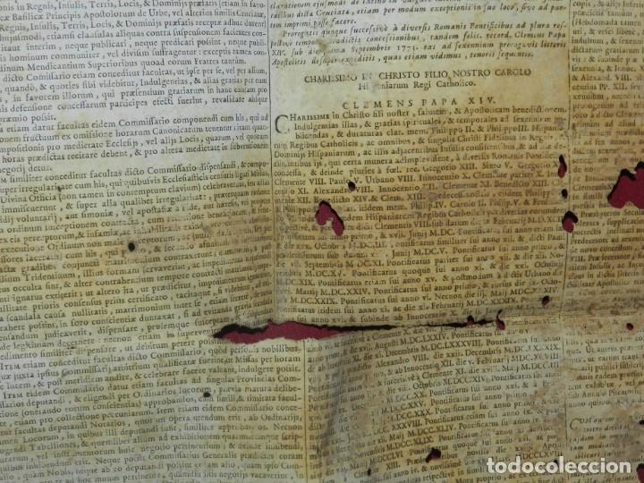 Arte: (M) PERGAMINO CON GRABADO DE ZARAGOZA AÑO 1774 D. EMMANUEL BONAVENTURA FIGUEROA - Foto 7 - 177183964