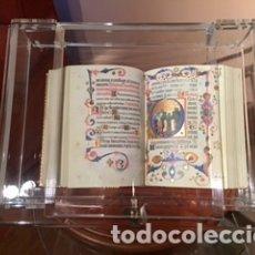 Arte: FACSIMIL DEL LIBRO DE HORAS DE MARIA DE NAVARRA DE LA EDITORIAL MOLEIRO. Lote 178277840
